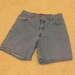 Levi's denim classic shorts